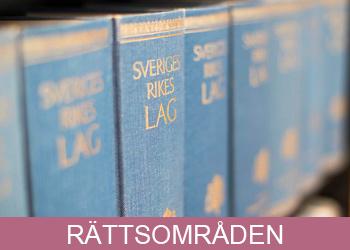 Rättsområden hos Advokatbyrån Limhamnsjuristen i Malmö